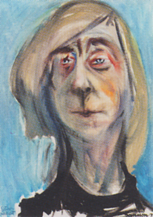 Tove_Jansson_self_portrait
