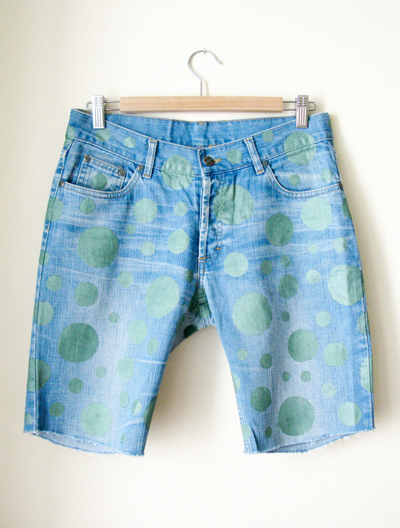 Zuri_Zuberi_polkadot_jeans_shorts_3