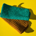 Elevating the swatch – Crocheted dish cloths