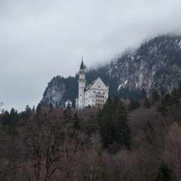 The fairytale castle on the hill