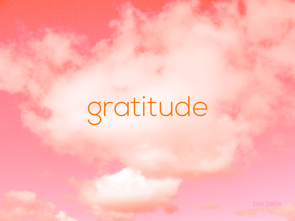 2018 – The year of Gratitude