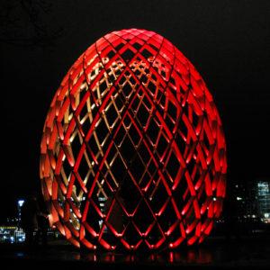 The luminous egg