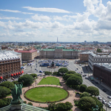 Hello Saint Petersburg